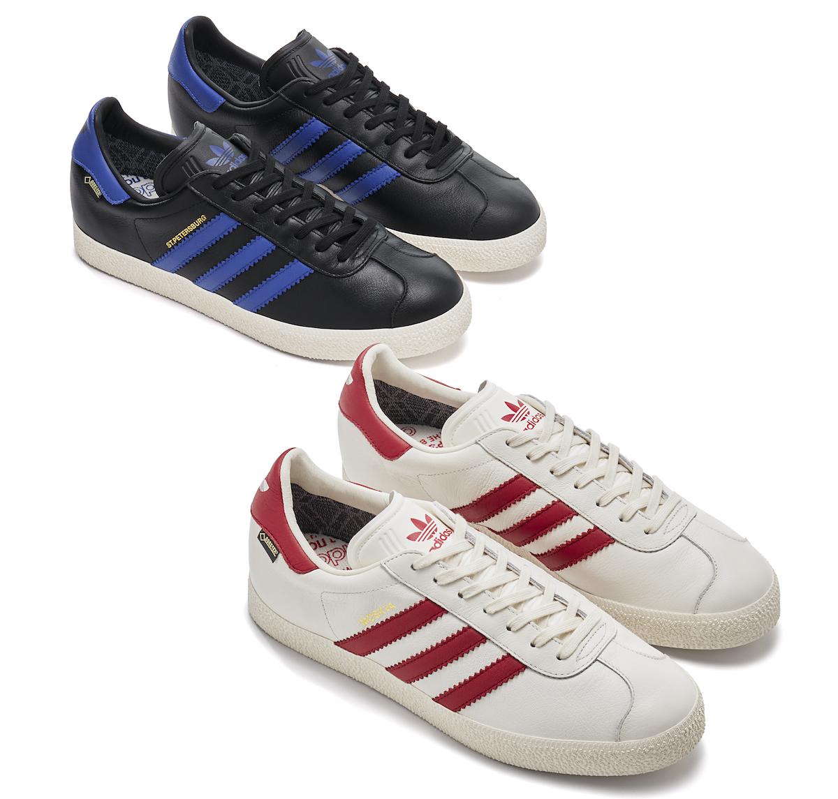 "adidas Originals Gazelle ""City Pack"" Moskva & St ..."