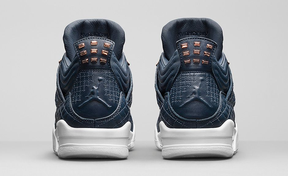 c15d84920f31 Air Jordan 4 Retro Premium Navy White - Soleracks