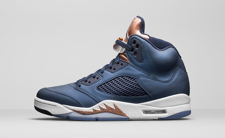 Air Jordan 5 Retro Bronze Soleracks