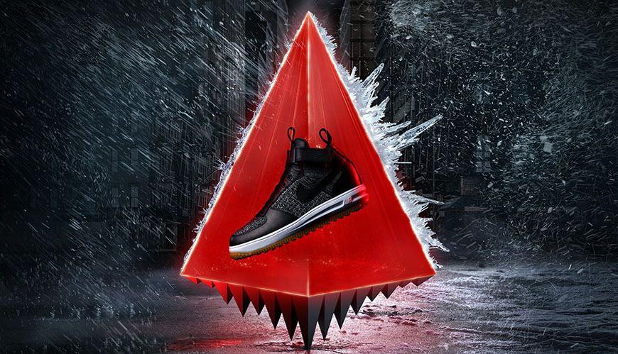 Nike lunar force 1 flyknit sneakerboot