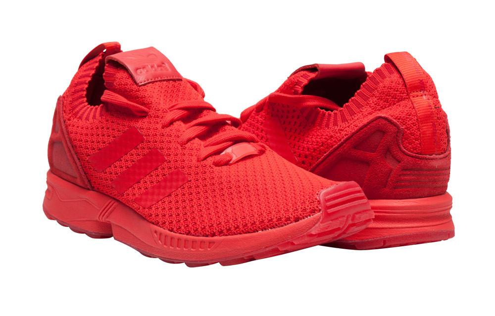 adidas zx flux mono rosso
