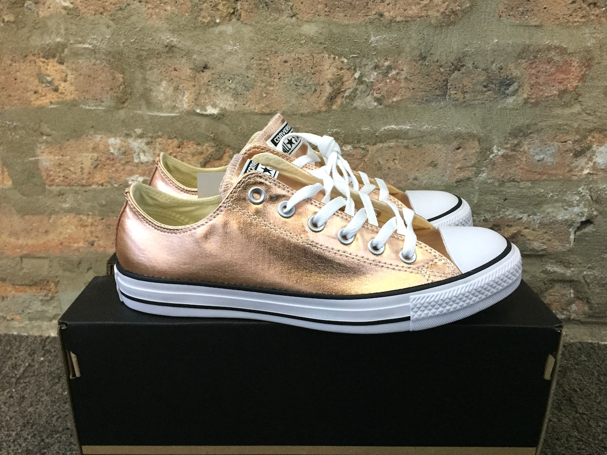 rose gold converse all star