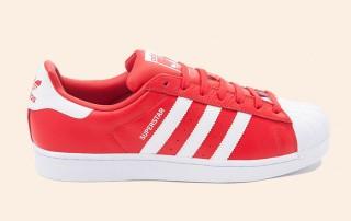 adidas Superstar Red White 2