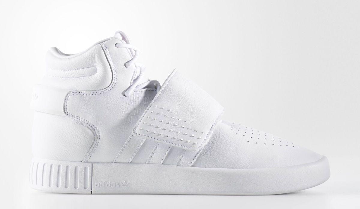 7faffacbed8 adidas Tubular Strap All White Sale  89.99 - Soleracks