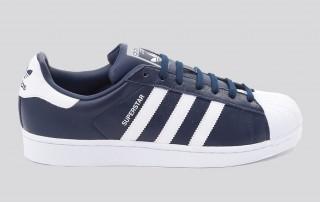 adidas originals superstar navy white