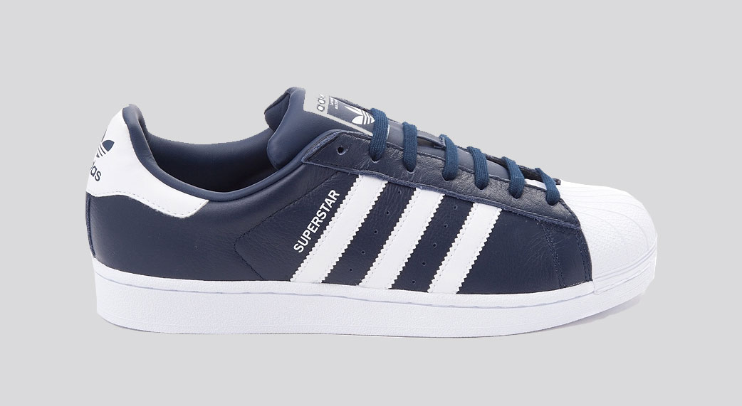 adidas Originals Superstar Navy White