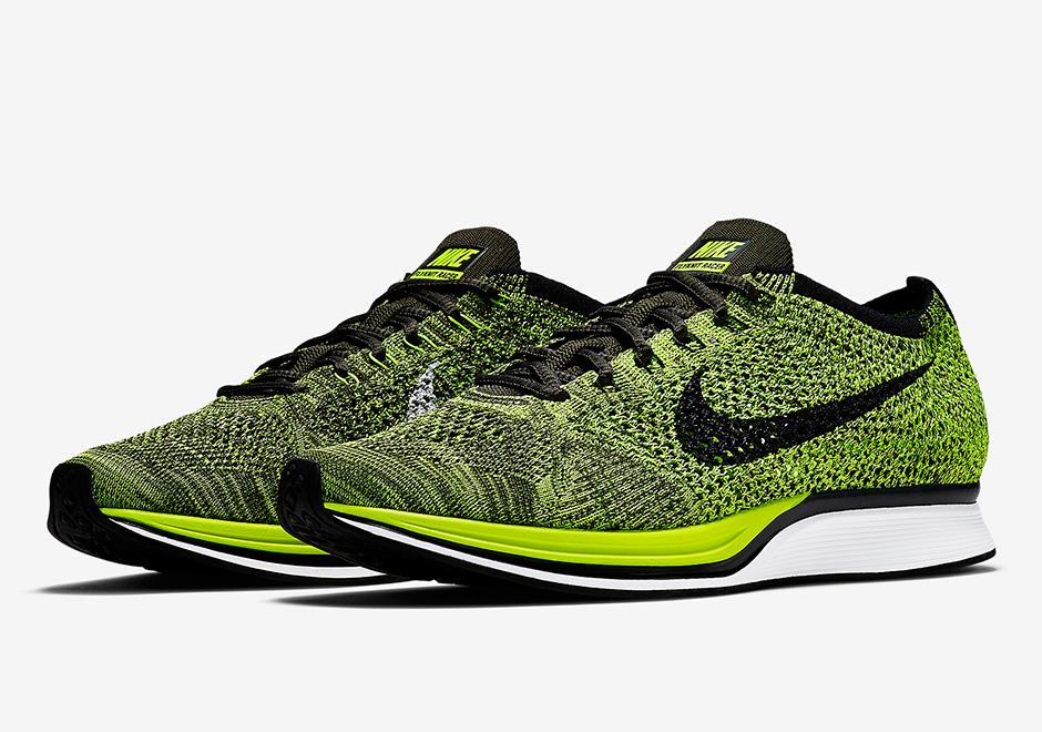 Nike Flyknit Racer Running Shoes Sale