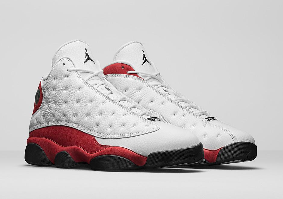 11d97e81227f Air Jordan 13 OG True Red Releases On All Star Week-End - Soleracks