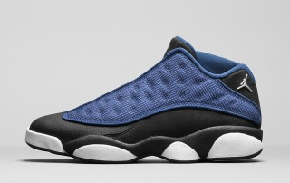 "AIR JORDAN 13 LOW ""BRAVE BLUE"" 2"
