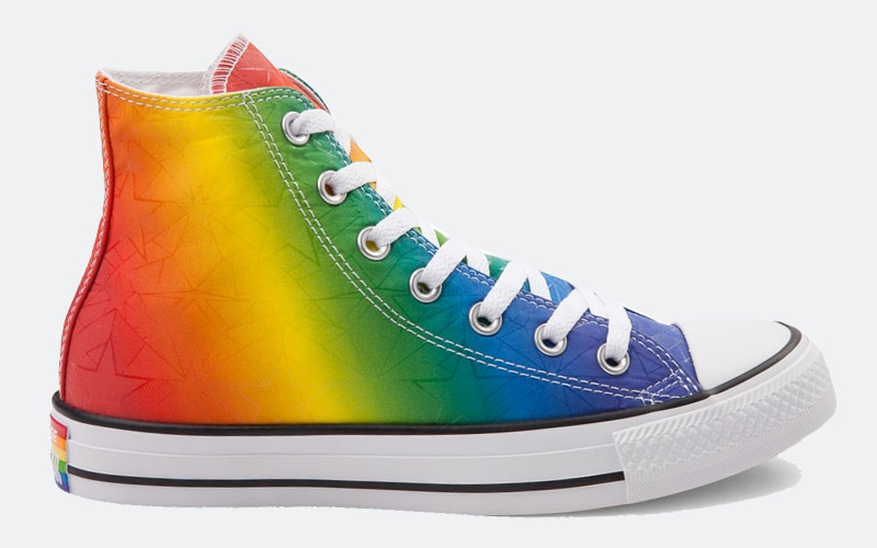 Converse LGBT Pride Collection Rainbow 2017 hi