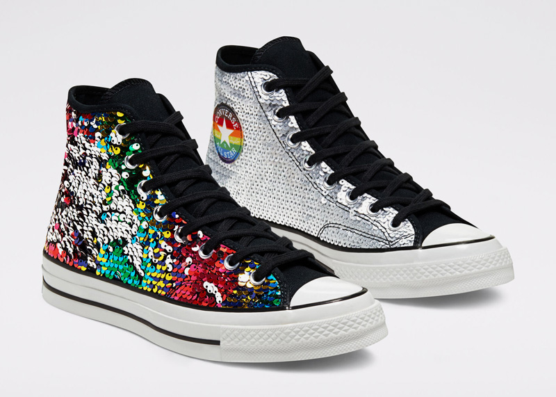 Converse Pride Sequin Hi Top