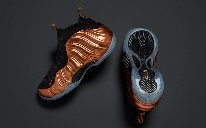 Nike Air Foamposite Copper 2017