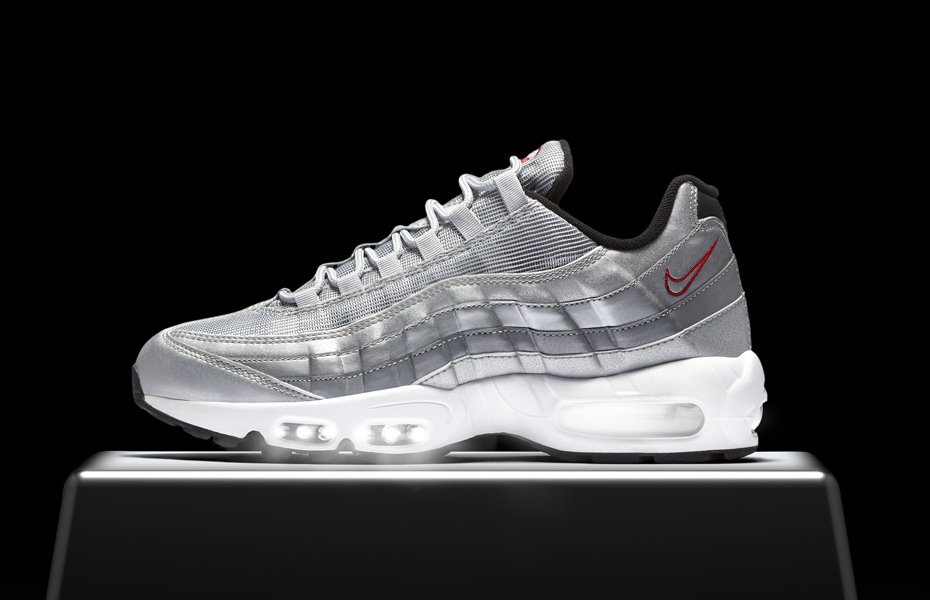 nike air max 95 og silver bullet soleracks. Black Bedroom Furniture Sets. Home Design Ideas