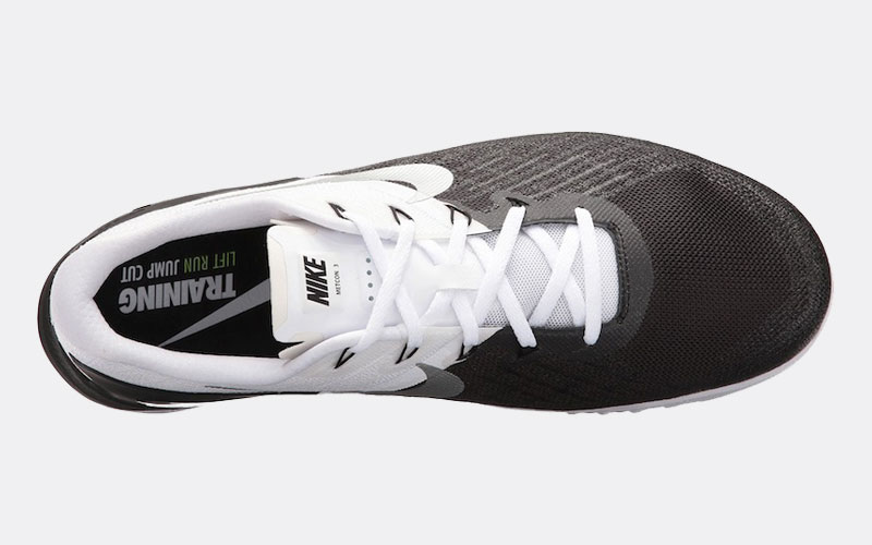 Nike Metcon 3 Review top white black
