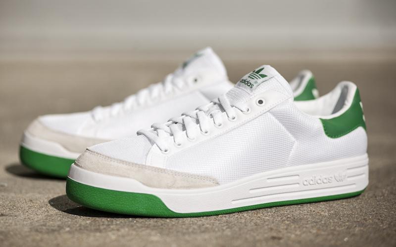 adidas Rod Laver White Green Navy Sale