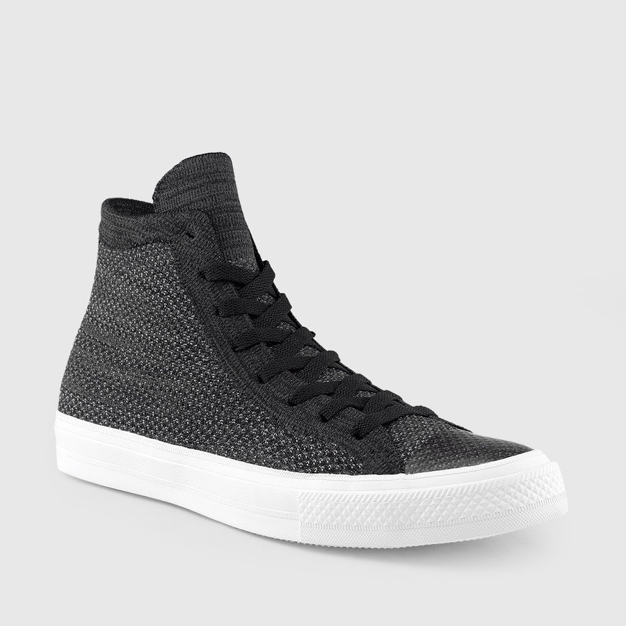 deb65f53d456 The Ultimate Converse Chuck Taylor Hi Top Featuring Flyknit is here