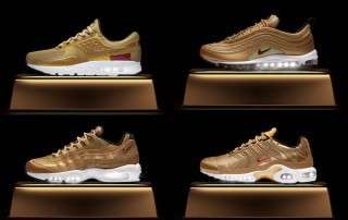 Nike Air Max Metallic Gold Collection