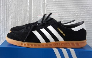 adidas Hamburg S76696 black white00001
