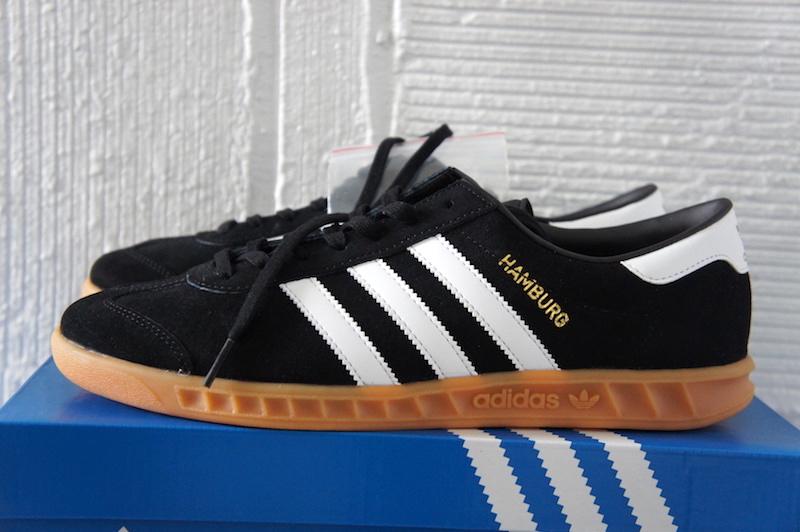 adidas Hamburg S76696 black white00001