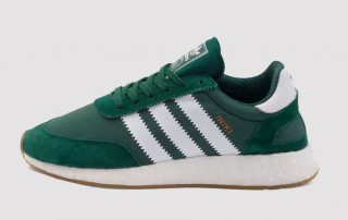 adidas Iniki Boost runner green white