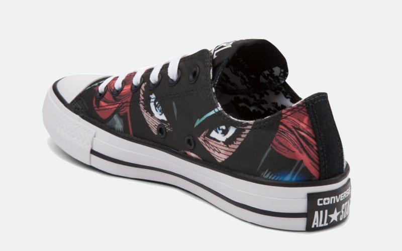 Converse Comics Batgirl 159119F year 2017 back