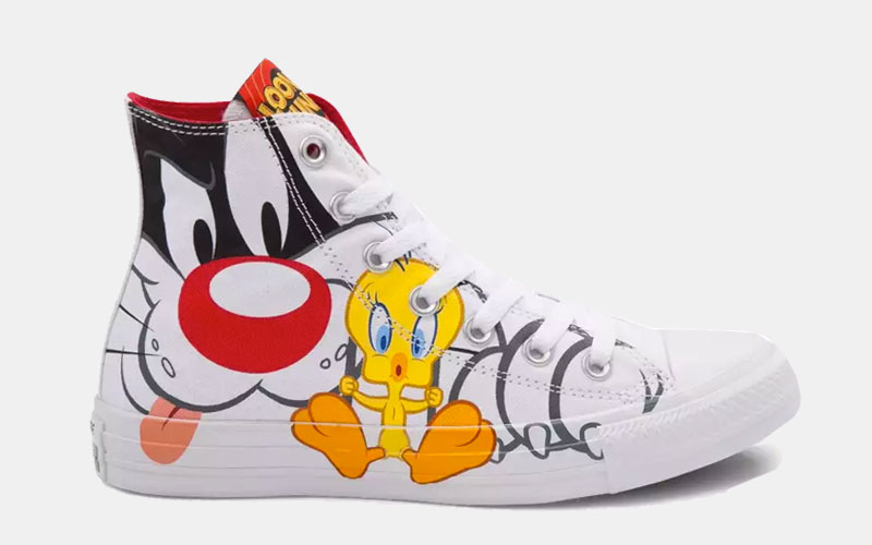 Converse x Looney Tunes Shoes Collection - Soleracks