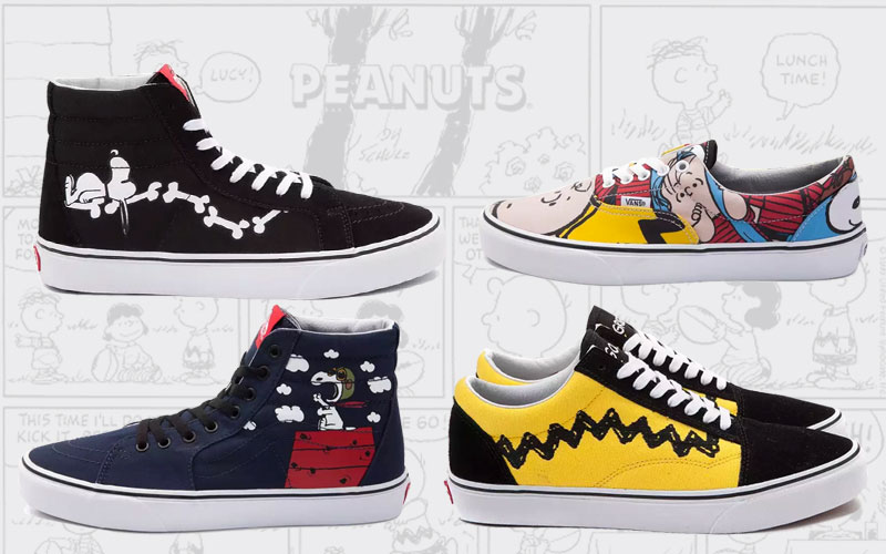 Vans x Peanuts Shoes and Apparel Collection
