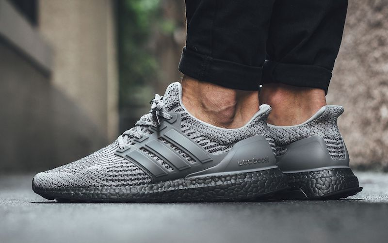 63f2b2cd8c997 Now Available - adidas Ultra Boost 3.0  Triple Grey  - Soleracks