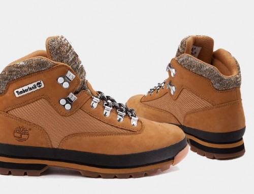 Now Available – Timberland Euro Hiker Boot Knit Wheat Fall 2017