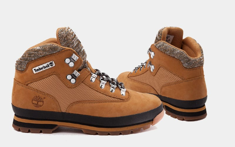 542e991df76 Now Available - Timberland Euro Hiker Boot Knit Wheat Fall 2017 ...