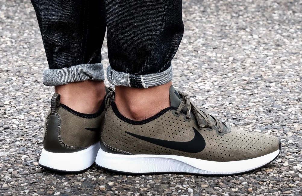 new products f8b4a 9e3a2 Nike Dualtone Racer Premium Perforated Suede