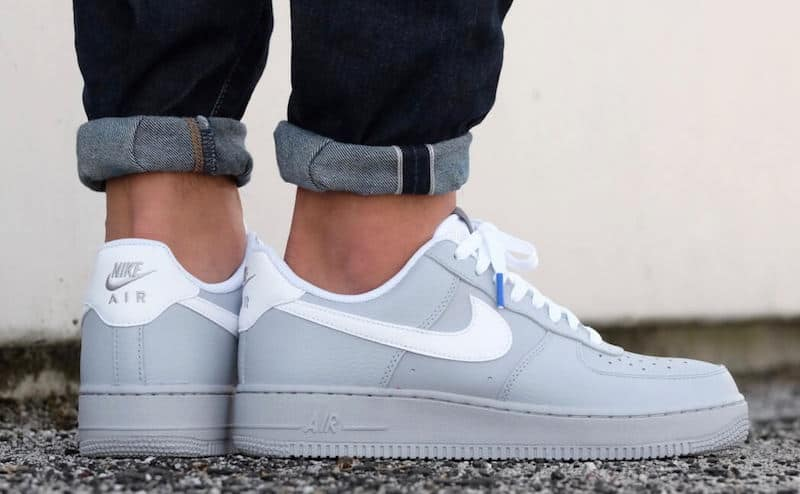 7be2d56e2 Nike Air Force 1 Low Wolf Gray On Sale $63 - Soleracks