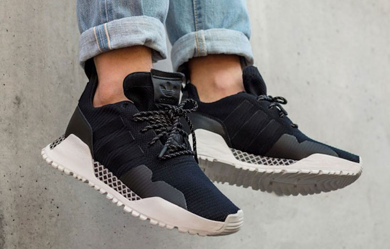 eceaa87be5e8 Now Available - adidas A.F. 1.4 Primeknit Black White - Soleracks
