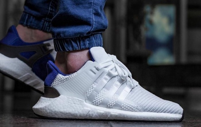 adidas EQT BOOST Support 93/17 White Royal