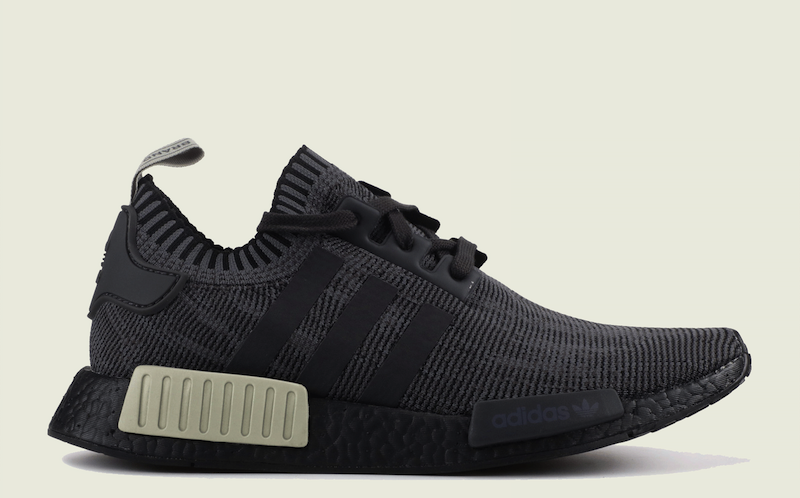 wholesale dealer c93f8 d6232 Now Available - adidas NMD R1 Primeknit Black Utility ...