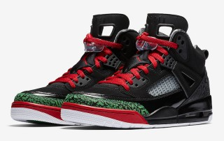 Air Jordan Spizike Black Classic Green