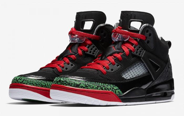 Air Jordan Spizike Black Classic Green