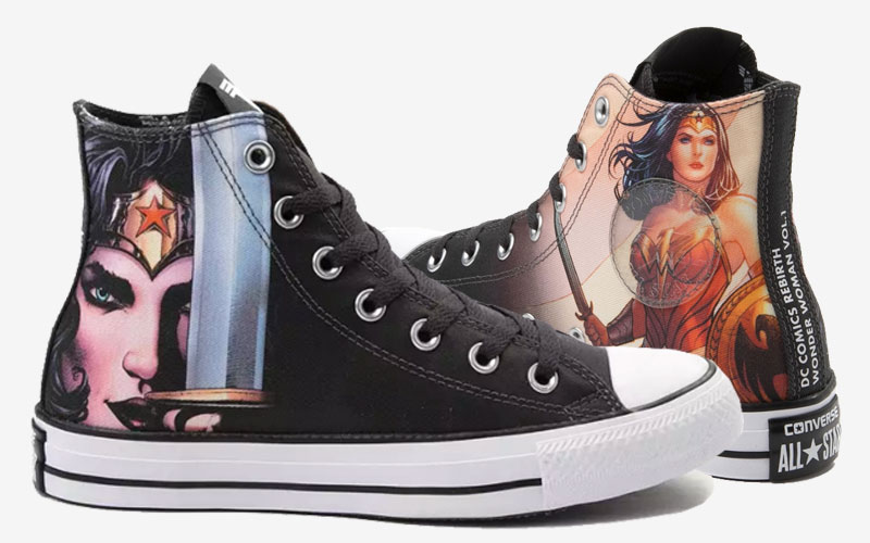 detailed pictures 463a4 6d6f0 The 2018 Converse DC Comics Shoes Collection