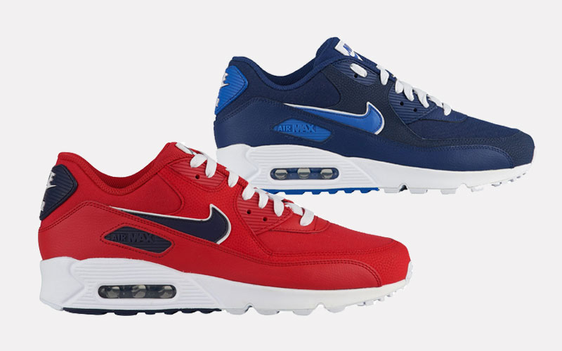 new arrival 0da85 1f580 Now Available - Nike Air Max 90 Varsity Pack - Soleracks