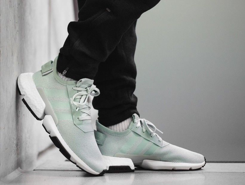 New ADIDAS Originals POD S3.1 BOOST Sneaker Mens light green all sizes