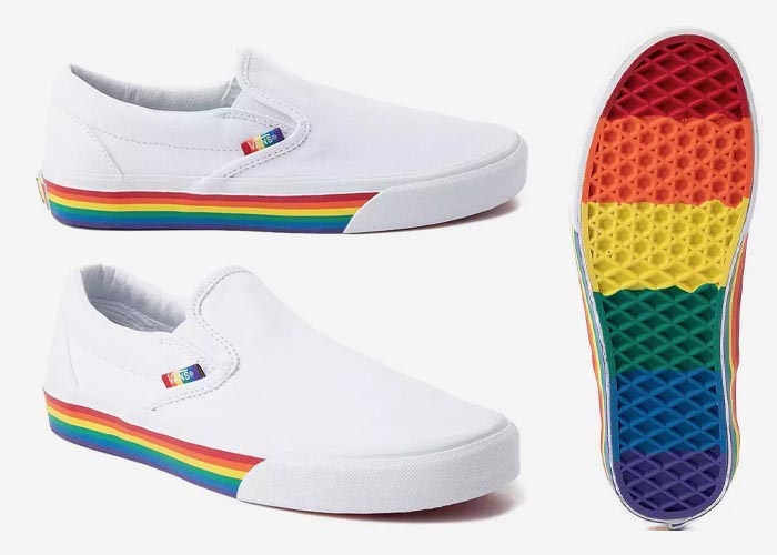 Vans Slip On Rainbow Pride 2019