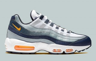 Nike Air Max 95 Midnight Navy Orange AJ2018 401