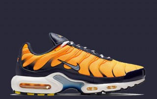 Nike Air Max Plus laser orange midnight navy