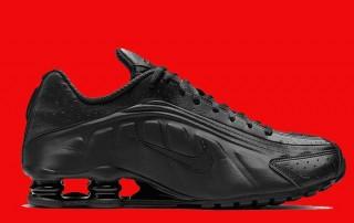 Nike Shox R4 triple black BV1111 001