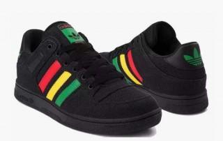 adidas Bucktown Rasta Hemp shoe 2