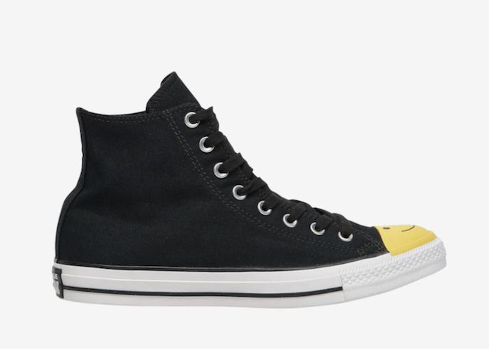 Converse Hi Smiley Face sneaker black 164423C