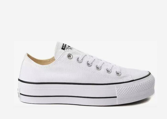 Converse Platform Lyft white black