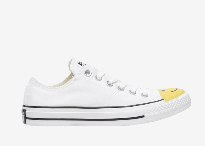 Converse Smiley Face low white 165580C