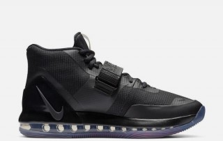 Nike Air Force Max Sneaker black bright cromson AR0974 003