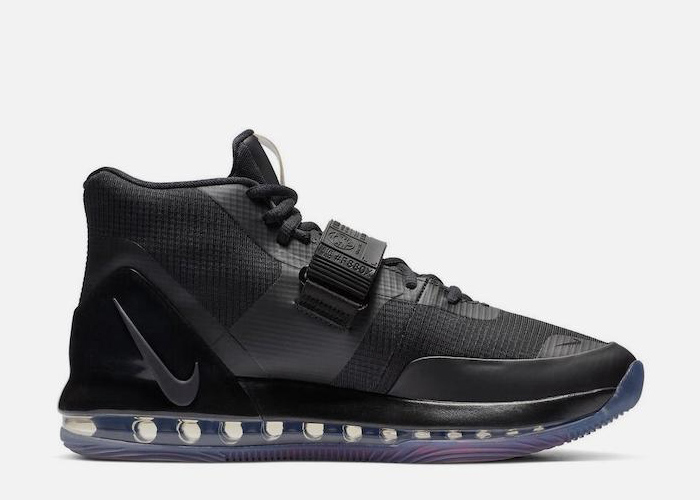 Nike Air Force Max Sneaker black bright cromson AR0974 003